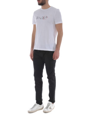 Dondup: casual trousers online - Gaubert black cotton trousers