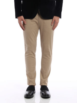 Dondup: casual trousers online - Gaubert cotton trousers