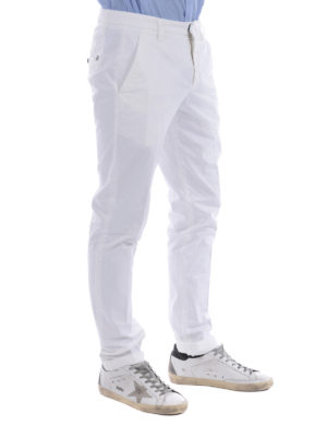 Dondup: casual trousers online - Gaubert gabardine trousers