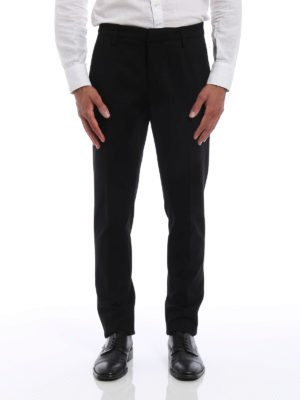 Dondup: casual trousers online - Gaubert jersey trousers