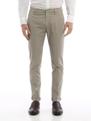 Dondup: casual trousers online - Gaubert light cotton trousers