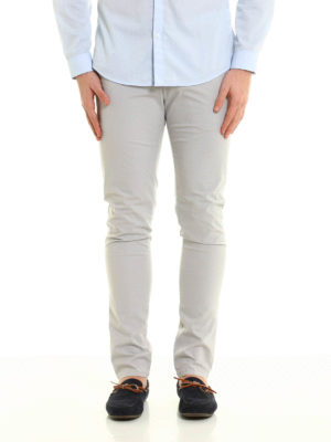Dondup: casual trousers online - Gaubert slim fit trousers