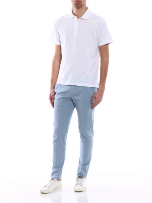 Dondup: casual trousers online - Gaubert soft cotton trousers