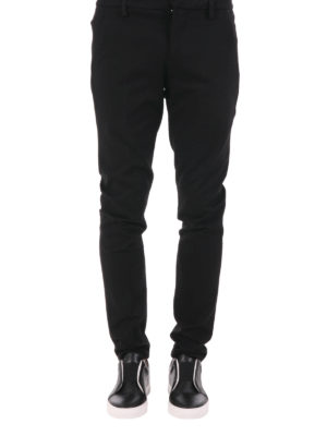 Dondup: casual trousers online - Gaubert viscose blend trousers