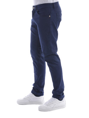 Dondup: casual trousers online - George stretch gabardine trousers