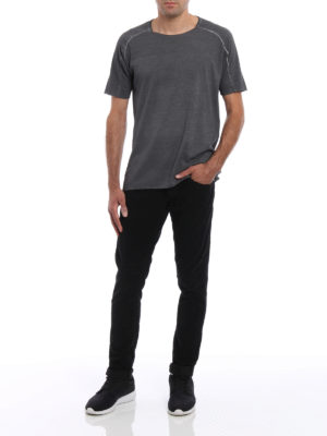 Dondup: casual trousers online - George velvet trousers