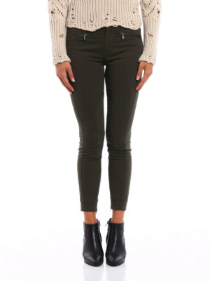Dondup: casual trousers online - Kedira cotton skinny trousers