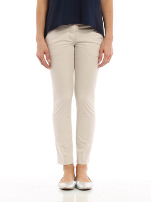 Dondup: casual trousers online - Perfect cotton trousers