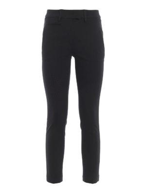 33bb6b03fabf DONDUP: pantaloni casual - Pantaloni Perfect in jersey compatto