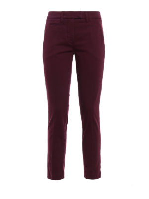 Dondup: casual trousers - Perfect cotton trousers