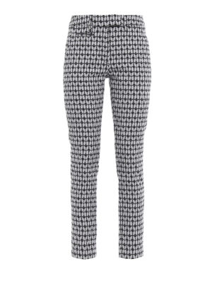 Dondup: casual trousers - Perfect heart pattern trousers
