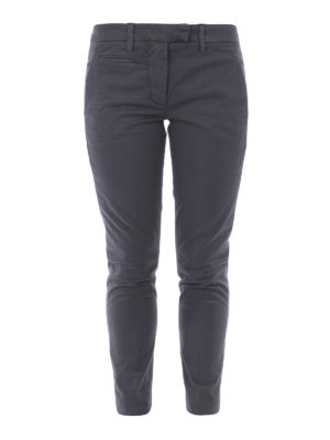 Dondup: casual trousers - Perfect stretch cotton trousers