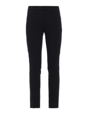 DONDUP: pantaloni casual - Pantaloni chino Perfect in viscosa stretch
