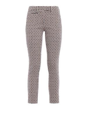 DONDUP: pantaloni casual - Pantaloni Perfect jacquard a soli
