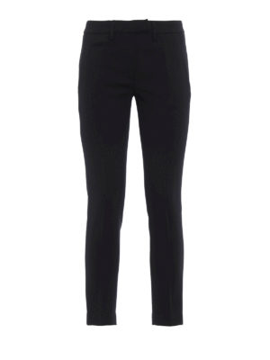 Dondup: casual trousers - Perfect wool blend trousers