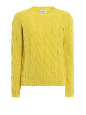 Dondup: crew necks - Alpaca and merino wool sweater