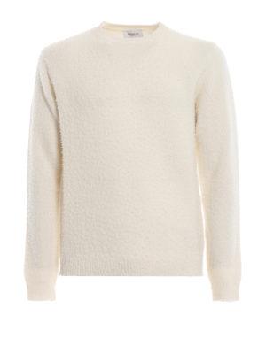 DONDUP: maglia collo rotondo - Girocollo in lana e cashmere effetto bouclé