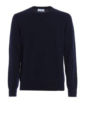 Dondup: crew necks - Extrafine merino wool crewneck