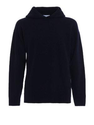 Dondup: crew necks - Hooded merino wool sweater