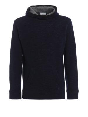 DONDUP: maglia collo rotondo - Pullover modello felpa cotone e lana merino