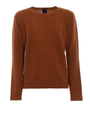 Dondup: crew necks - Iconic pilling effect crewneck