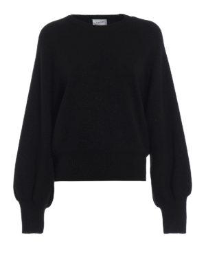 DONDUP: maglia collo rotondo - Girocollo in misto lana con lurex