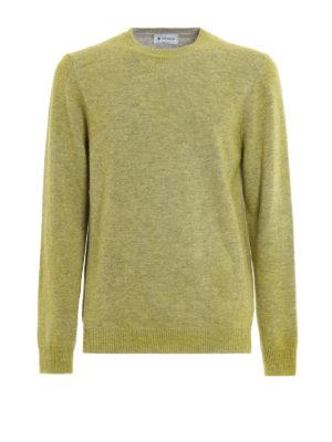 Dondup: crew necks - Merino wool crew neck sweater
