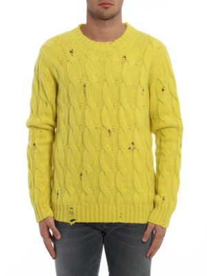Dondup: crew necks online - Alpaca and merino wool sweater