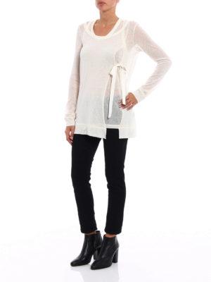 Dondup: crew necks online - Alpaca blend two-piece sweater