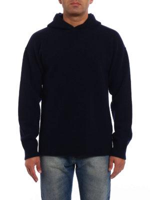 Dondup: crew necks online - Hooded merino wool sweater