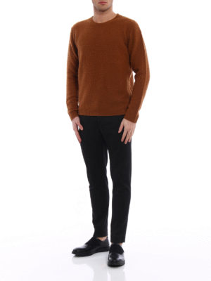 Dondup: crew necks online - Iconic pilling effect crewneck