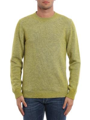 Dondup: crew necks online - Merino wool crew neck sweater