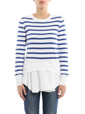 Dondup: crew necks online - Striped cotton sweater