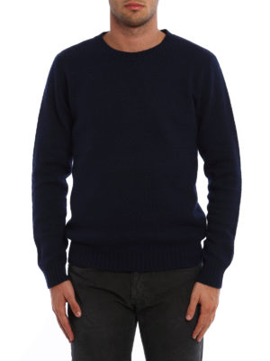 Dondup: crew necks online - Textured wool blend sweater