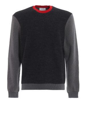 DONDUP: maglia collo rotondo - Girocollo modello felpa in lana merino