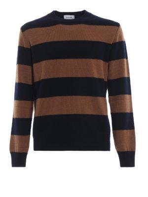 DONDUP: maglia collo rotondo - Girocollo senza tempo o in lana a righe