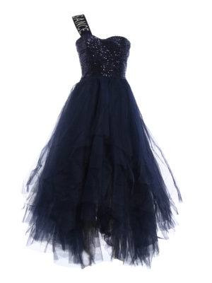 Dondup: evening dresses - Narrow fairy-tale dress