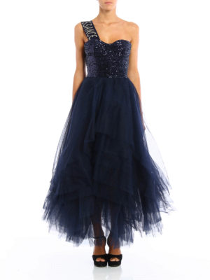 Dondup: evening dresses online - Narrow fairy-tale dress