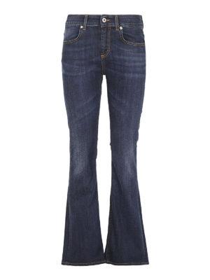 DONDUP: jeans a zampa - Jeans svasati Trumpette