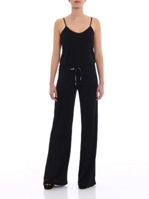 Dondup: jumpsuits online - Sleeveless jersey jumpsuit