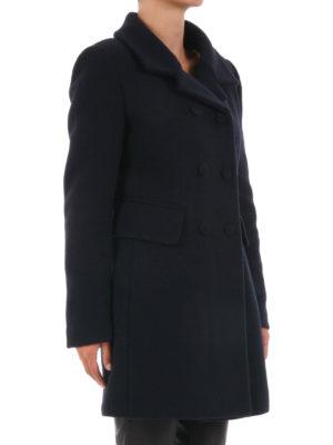 Dondup: knee length coats online - Wool blend classic coat