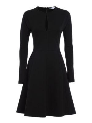 Dondup: knee length dresses - Gasparite flared dress
