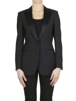 DONDUP: giacche blazer online - Giacca smoking in misto lana