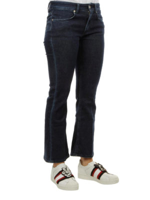 DONDUP: jeans bootcut online - Jeans in denim scuro
