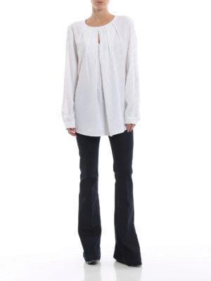 DONDUP: jeans bootcut online - Jeans skinny scuri Neon a zampa