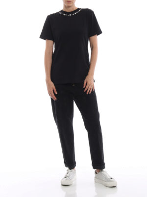 DONDUP: Boyfriend online - Jeans neri Koons in denim macchiato