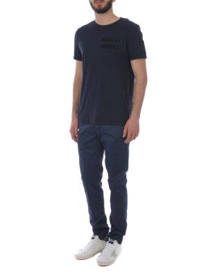 DONDUP: pantaloni casual online - Pantaloni Bryan cotone stretch blu