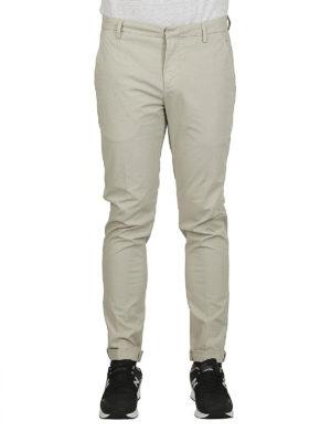 DONDUP: pantaloni casual online - Pantaloni Gaubert in cotone leggero