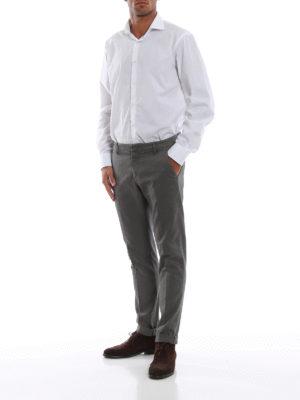 DONDUP: pantaloni casual online - Pantaloni Gaubert in misto cotone mélange