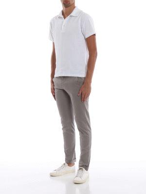 DONDUP: pantaloni casual online - Pantaloni chino Gaubert in misto cotone